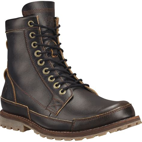 timberland mens boots earthkeepers timberland earthkeepers rugged originals leather 6in boot
