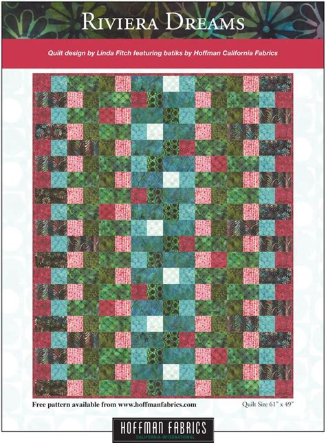 Hoffman Free Quilt Patterns by 1000 Images About Hoffman S Project Patterns On