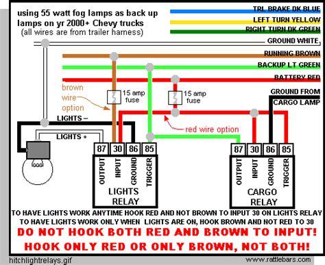 chevy trailer wiring harness diagram 4 way trailer wiring