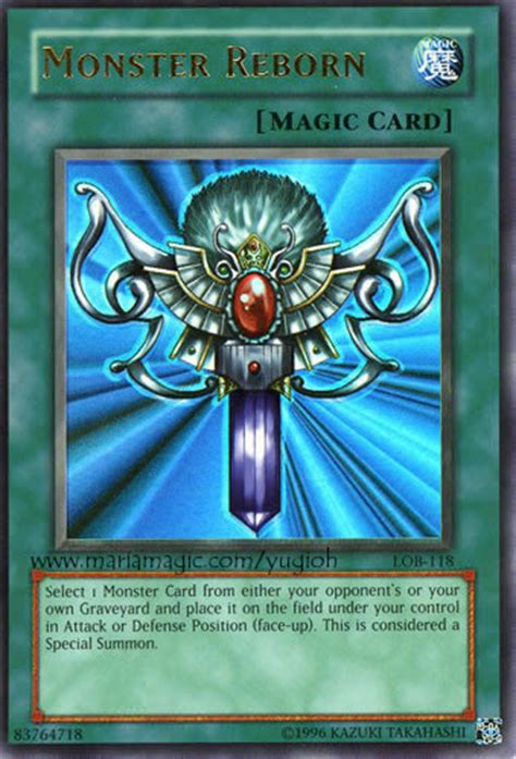 printable yugioh cards yugioh card monster reborn