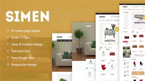 bootstrap themes themeforest simen responsive ecommerce bootstrap template