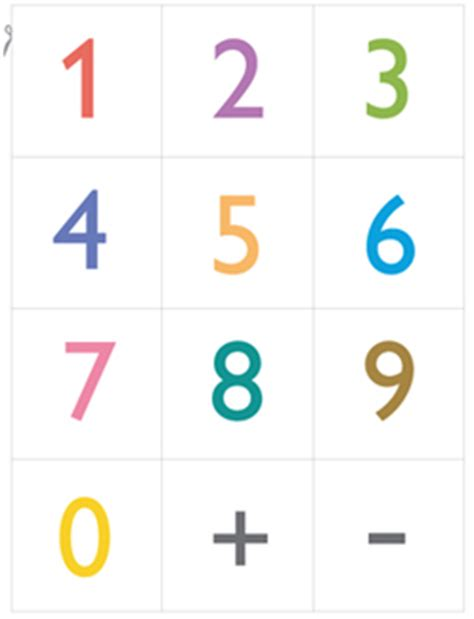 small printable number flashcards best photos of small number cards free printable number