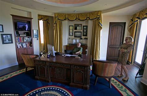 oval office through the years white house in ta pharmaceutical billionaire tom builds replica oval office in 7 6m
