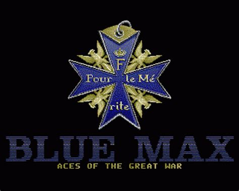 Blue Max Blue Max Aces Of The Great War Rom