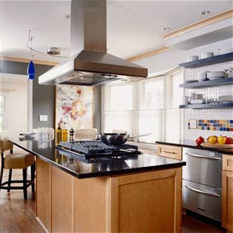 kitchen island vent ideas ranges and islands on pinterest