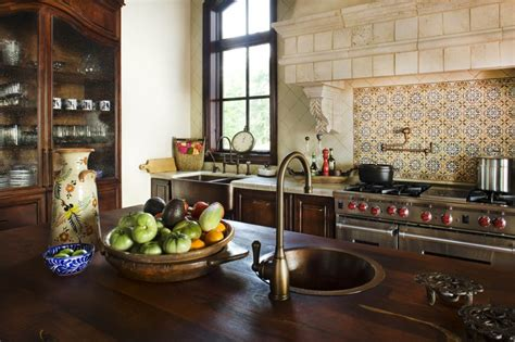 spanish tile kitchen backsplash get your kitchen bathed with awe with the touch of