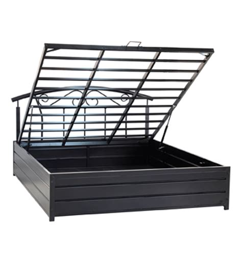 king bed with storage by furniturekraft by furniturekraft metal bed with storage queen size by furniturekraft by
