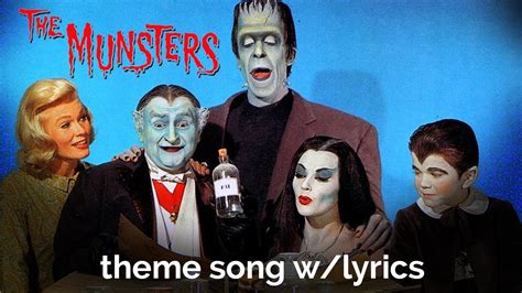 theme song munsters the munsters theme with lyrics youtube