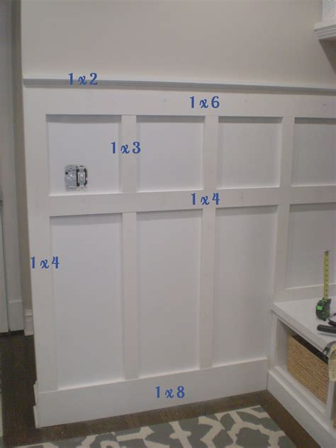 Wainscoting Patterns by Board And Batten Wall Diy Batten Board And Wainscoting