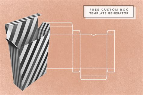 box template generator oh the lovely things free custom box template generator