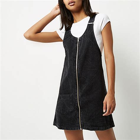 Trends The Pinafore Dress by River Island Pinafore Dress 2017 2018 Fashion Trend