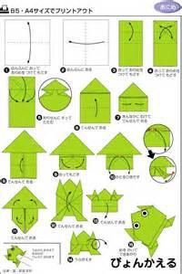 Origami Frog Pattern » Home Design 2017