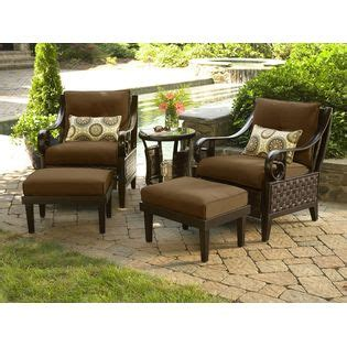 Lazy Boy Patio Furniture Kmart by La Z Boy Shelby 5 Pc Woven Seating Set Outdoor Living