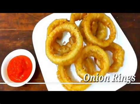 bahan membuat onion rings onion rings bawang bombay goreng youtube