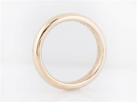 Antique Wedding Bands by Antique Wedding Band In 14k Yellow Gold