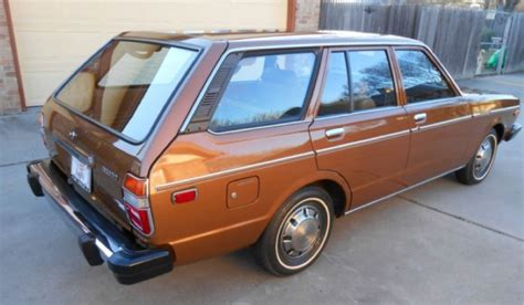 nissan stanza wagon slammed kidney anyone 18 000 mile 1978 datsun 510 japanese