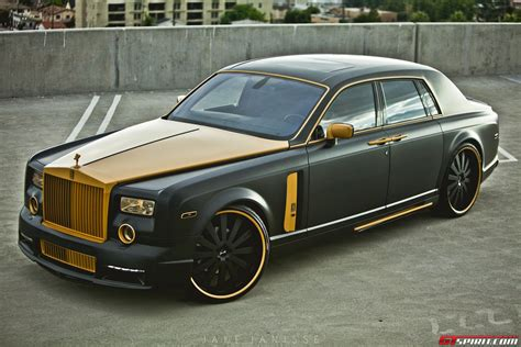 rolls royce ghost gold rolls royce phantom conquistador by platinum