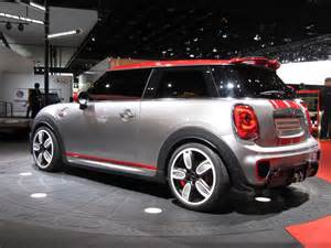 Detroit Mini Cooper New Mini Cooper Works Model Previewed With Detroit