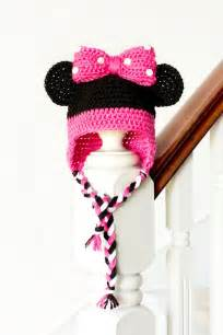 Craft crochet create minnie mouse inspired baby hat crochet pattern