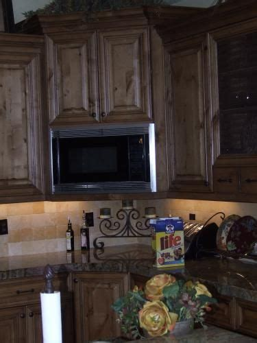 Corner Hutch Corner Microwave Built In Cabinets For The Home