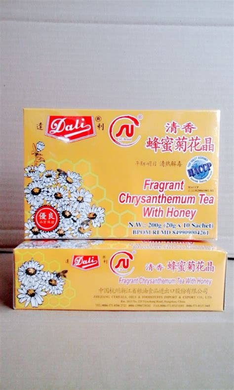 Sale Teh Kembang Chrysanthemun 20 Sachet dali fragrant chrysanthemum tea with honey quot teh kembang quot isi 10 sachet 20 gram toko alat