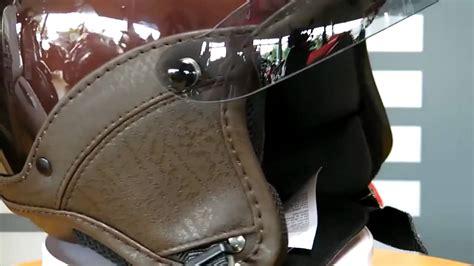 Helm Retro Helm Classic Helm Superbasic Matte Brown vespa vintage und soft touch helm bekleidung braun terra