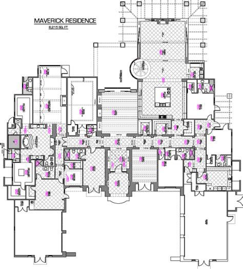 luxury homes floor plan maverick residence by phillips luxury homes