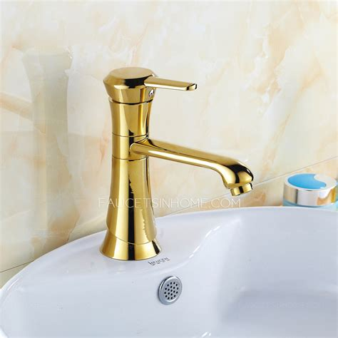 discount vintage brass single rotatable sink faucet