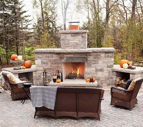 outdoor fireplace decor 53 most amazing outdoor fireplace designs
