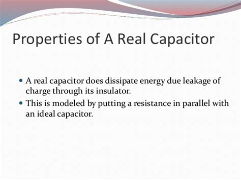 leakage resistance of a capacitor equation leakage resistance of a capacitor 28 images 16 capacitance chapter topics covered in chapter