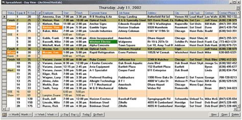 dispatch schedule template employee schedule template related keywords