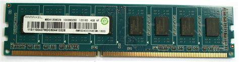 Ram Ramaxel 4gb rmr5040ed58e9w 1600 ramaxel 4gb pc3 12800 ddr3 ram dimm memory