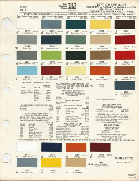 corvette paint colors search engine at search