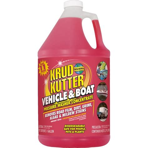 lowes boat wax shop krud kutter 1 gallon vehicle and boat pressure washer