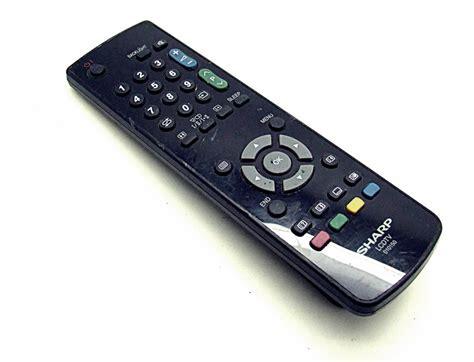 Remote Tv Sharp original sharp 010150 lcdtv remote onlineshop