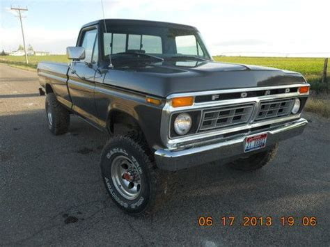 1976 ford f250 highboy for sale purchase used 1976 ford f250 highboy in filer idaho