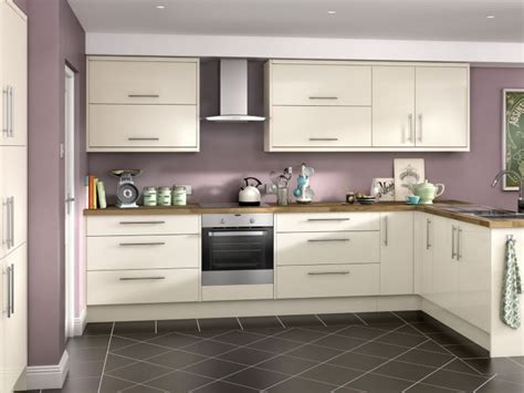 cream gloss kitchen ideas orlando cream hi gloss kitchen wickes co uk kitchen