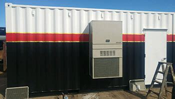 modified shipping containers  heat lighting ac transport planning transport planning
