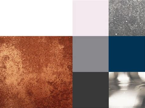 copper color combinations colour scheme copper highlights muted greys with hints