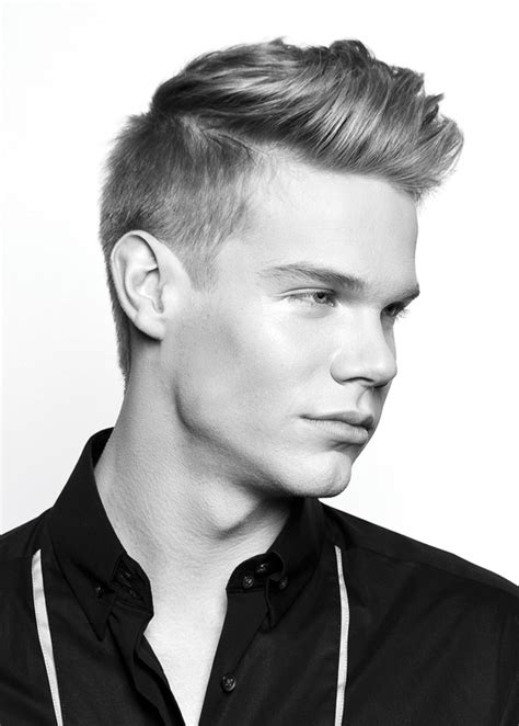 hairstyles short in back and long sides mens haircuts short back and sides long on top