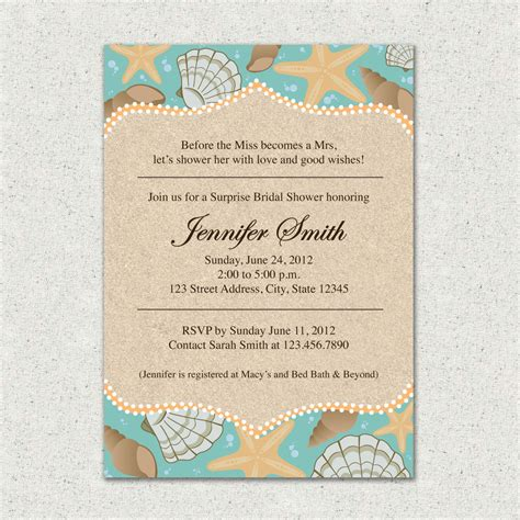 bridal shower theme invitations invitation themed bridal shower invite by