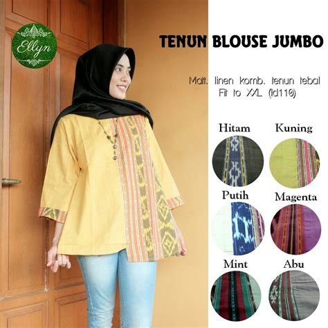 Supplier Baju Blouse Hq jual harga supplier baju tenun blouse jumbo zero2fifty
