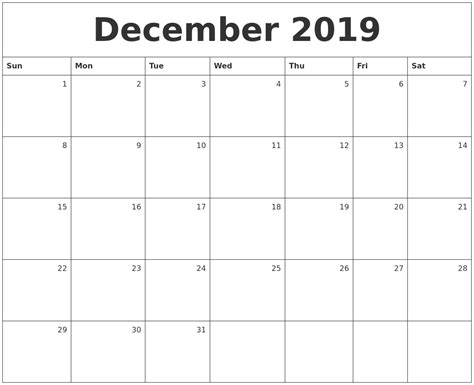 printable monthly calendar 2019 july 2019 calendar
