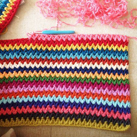 crochet pattern v stitch crochet v stitch ripple afghan pattern