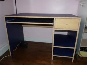 bureau bleu ikea table de lit