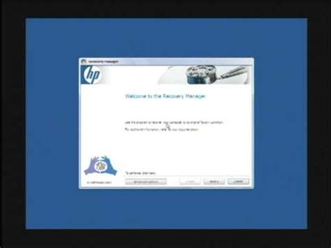 resetting hp to factory settings restoring hp g62 laptop back to factory settings how to