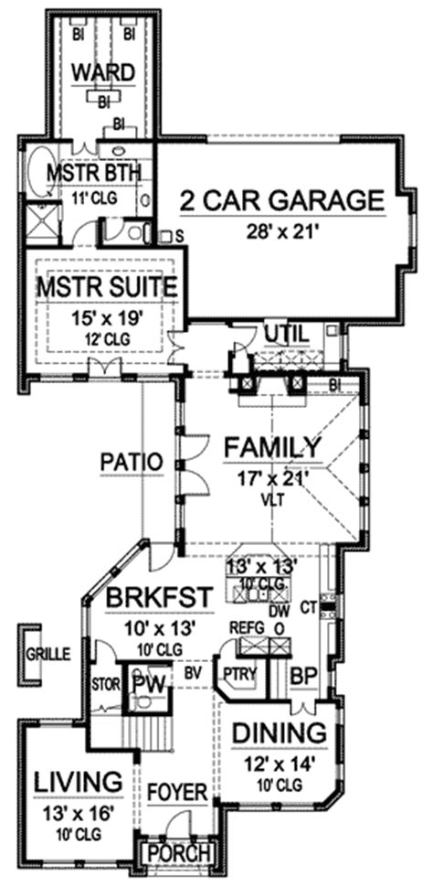long floor plans house plan long narrow lot joy studio design gallery