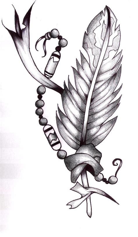 tattoo designs indian feathers ideas design