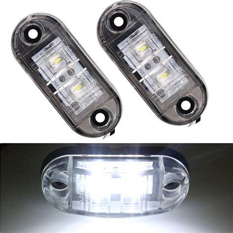 led trailer marker lights 12v 24v 2pcs universal car light led marker