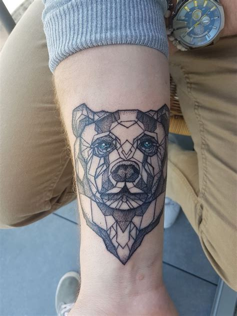 geometric bear tattoo best 25 geometric ideas on geometric